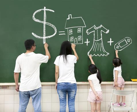 bevonjuk-e a gyerekeket a pénzügyi gondjainkba